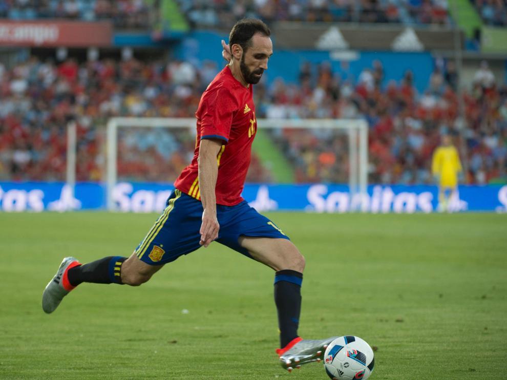 España cae ante Georgia en el último amistoso antes de la Eurocopa