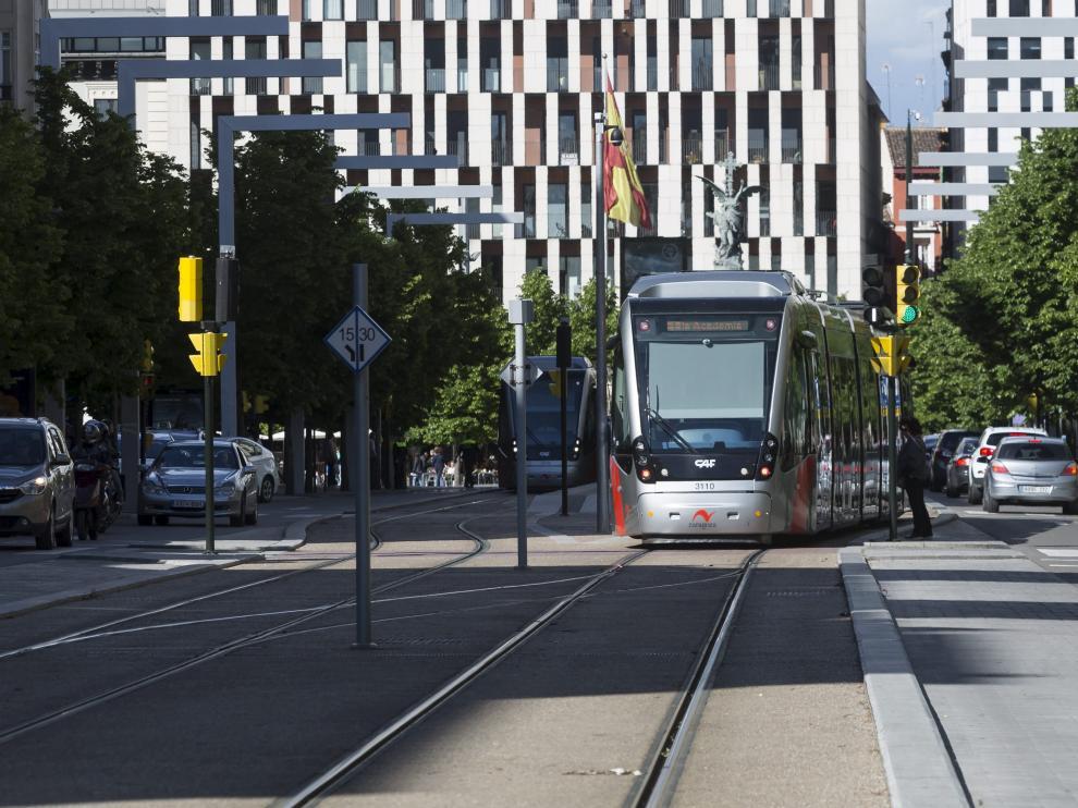 El tranvía transportó el año pasado un 11% menos de los pasajeros previstos.