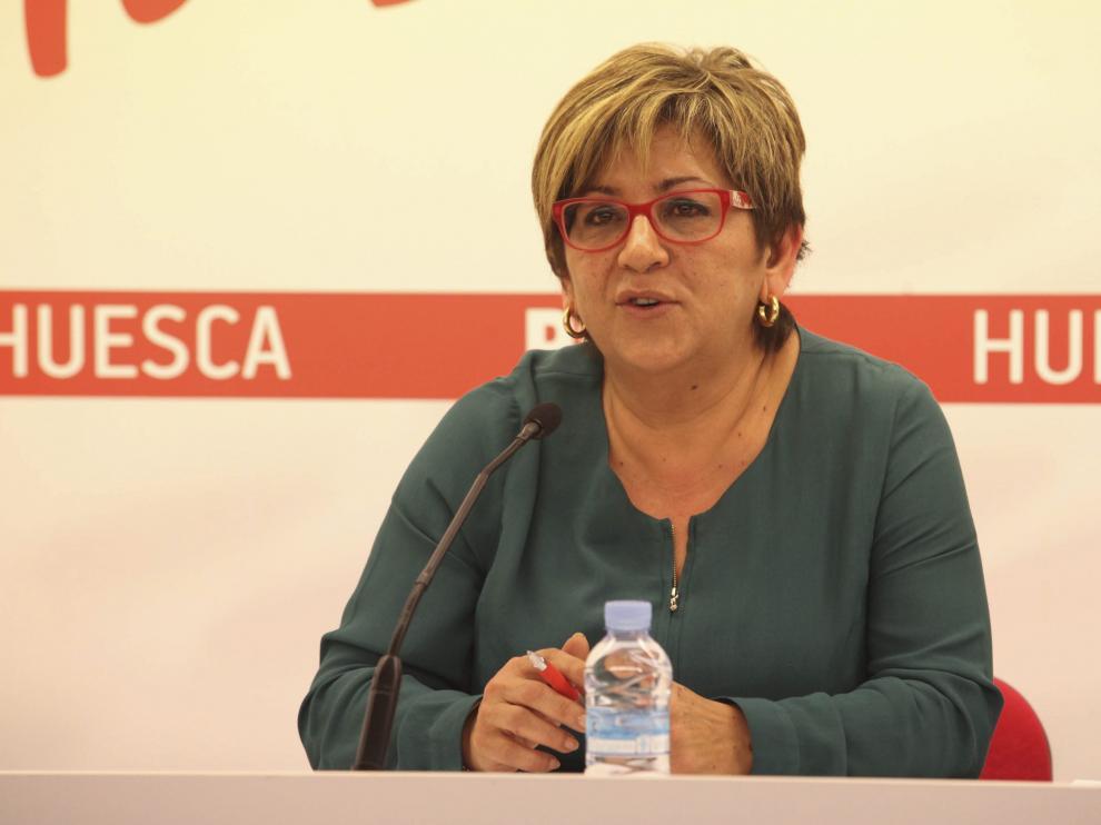 La vicepresidenta de la DPH, Elisa Sancho.