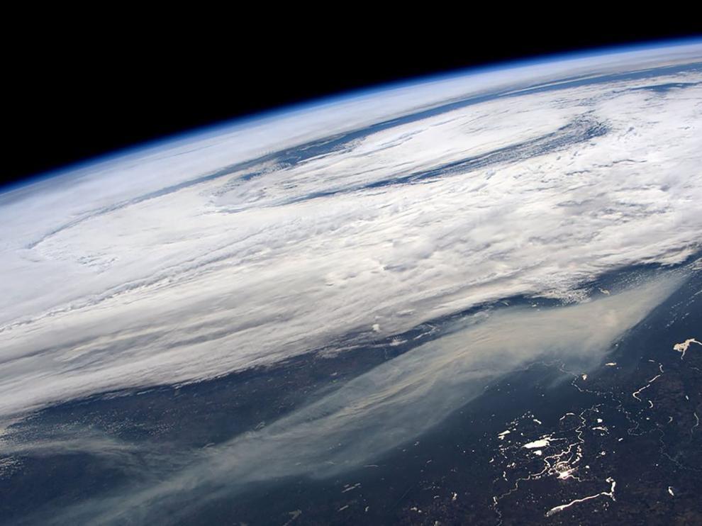 La Tierra, vista desde el espacio.