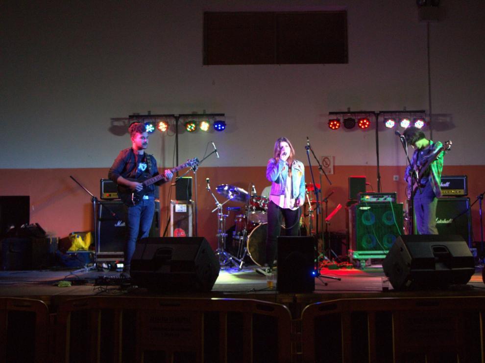 El grupo de rock Aragumama