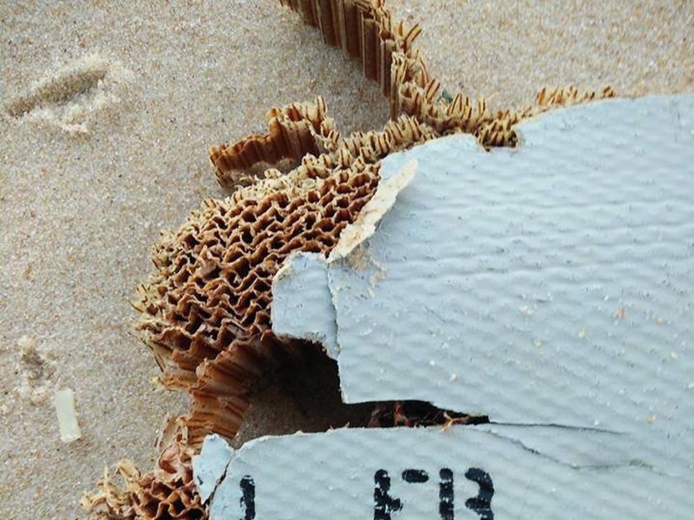 Restos del MH370 encontrados en Madagascar.