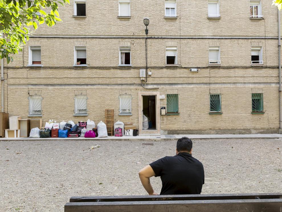 Algunos de los casos se dan en las llamadas viviendas sindicales. En la imagen, el grupo Teniente Ortiz de Zárate, en el Picarral.