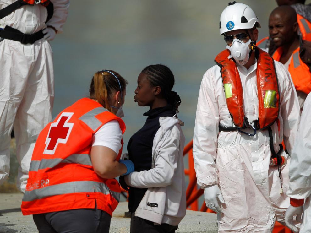 La Guardia Costera italiana explicó en un comunicado que ha coordinado en las últimas horas el salvamento de 1.348 personas.