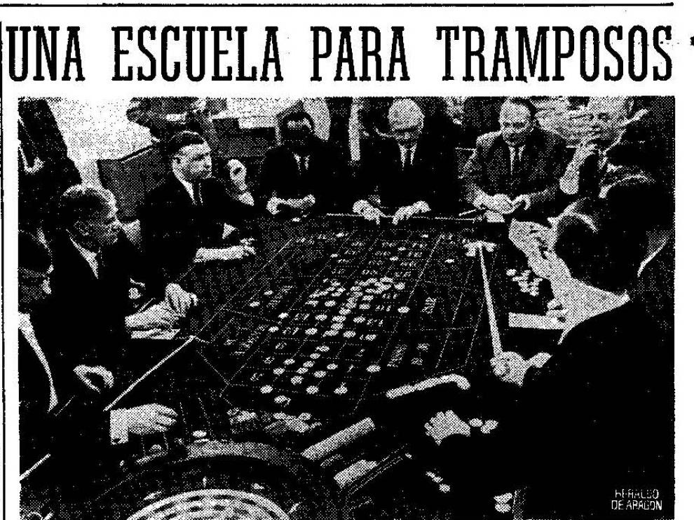 Noticia publicada en 1970 en HERALDO DE ARAGÓN