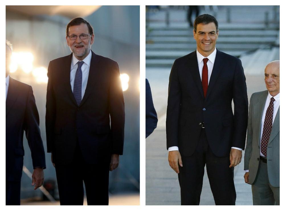 Rajoy, Sánchez, Iglesias  y Rivera.
