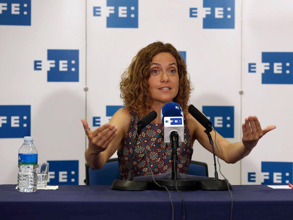 La secretaria de Estudios y Programas del PSOE, Meritxell Batet, en una imagen de archivo.