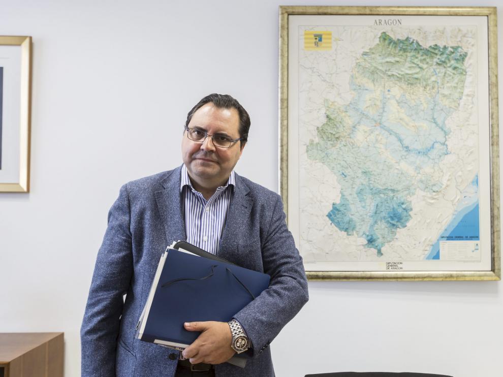 Tomás Guajardo, director general de Personal y Formación de Profesorado.