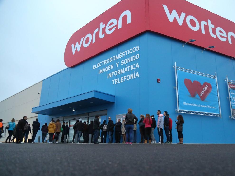 Worten cuenta actualmente con 39 tiendas en toda España
