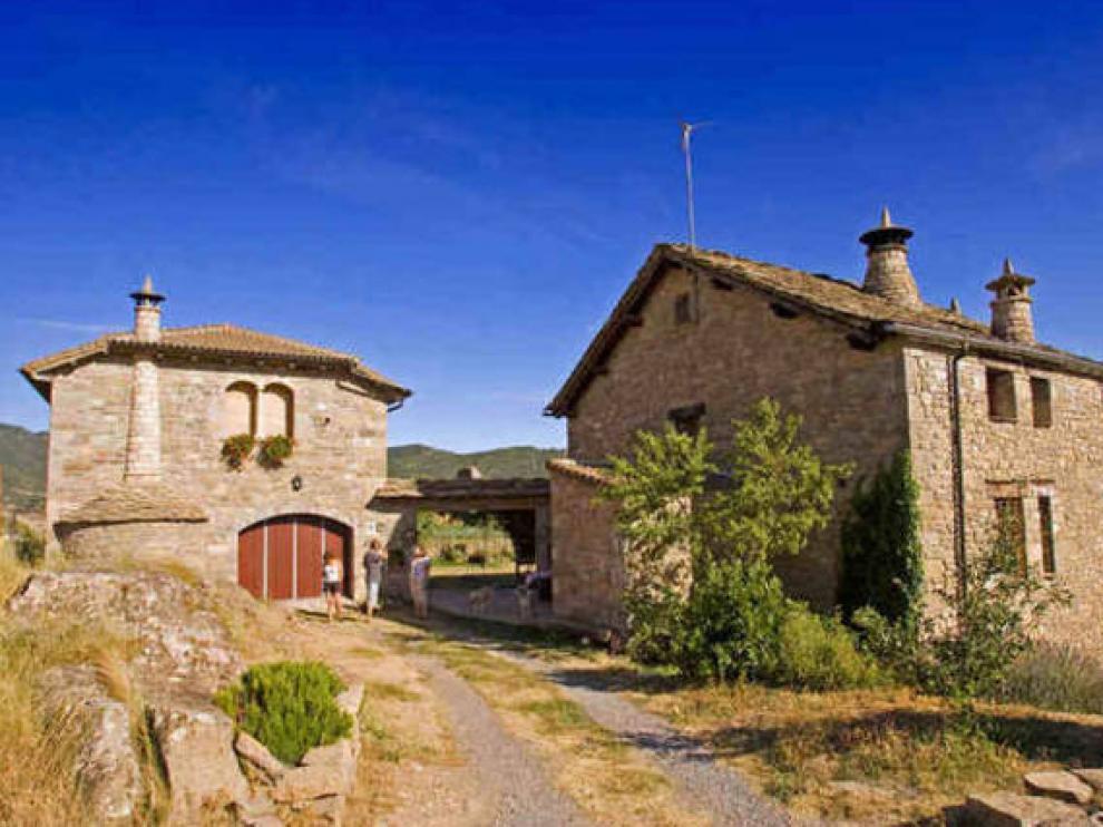 Una casa rural en Sabiñánigo, en una imagen de archivo