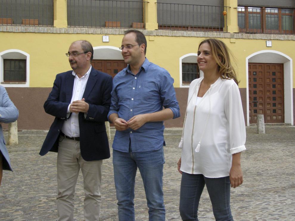 Lambán, Luena y Sumelzo en Tarazona.