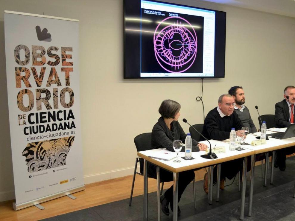 Presentación del Observatorio de la Ciencia Ciudadana en España el pasado mes de marzo.