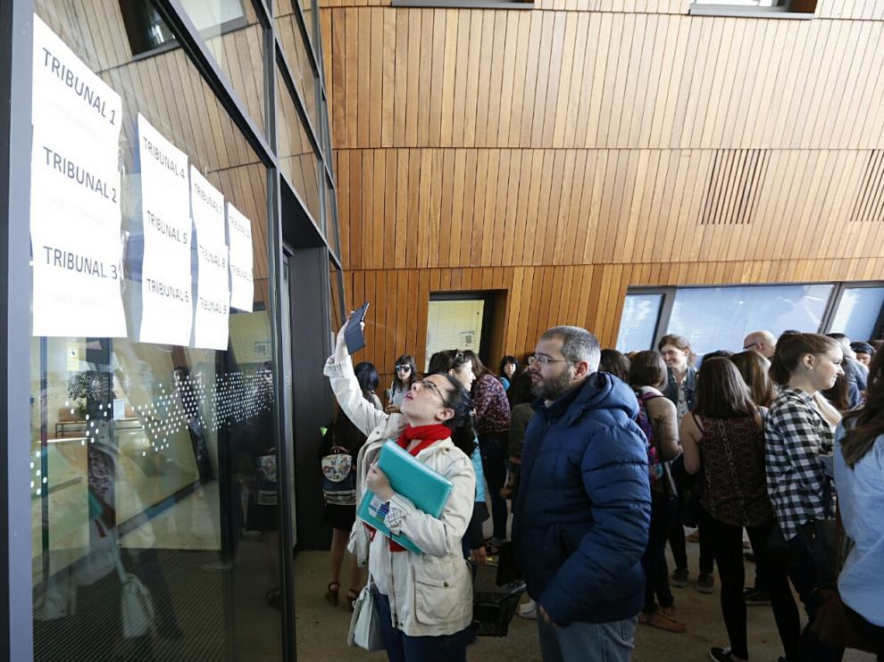 Oposiciones a maestro en Zaragoza.