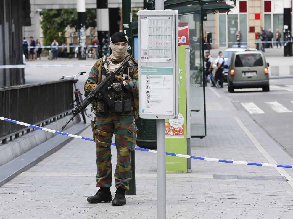 ?Una falsa alarma obliga a evacuar la estación central de trenes de Bruselas