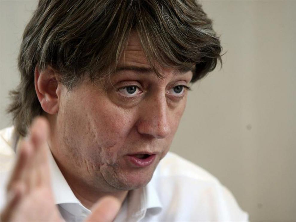 El alcalde de Soria, el socialista Carlos Martínez Mínguez.