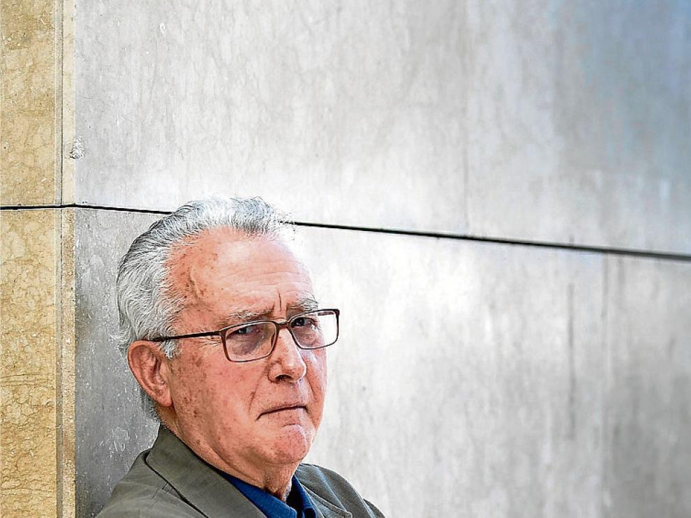 Manuel Gallego, en su visita a Zaragoza en 2016.