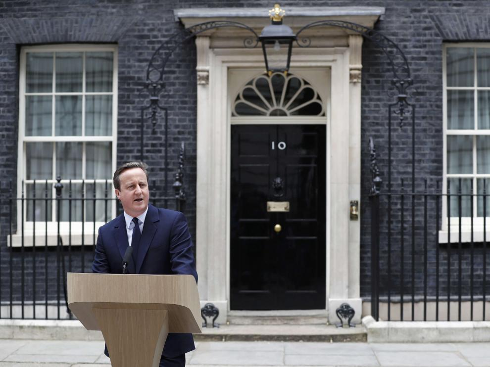 Mensaje del primer ministro británico a la nación para evitar el 'brexit'