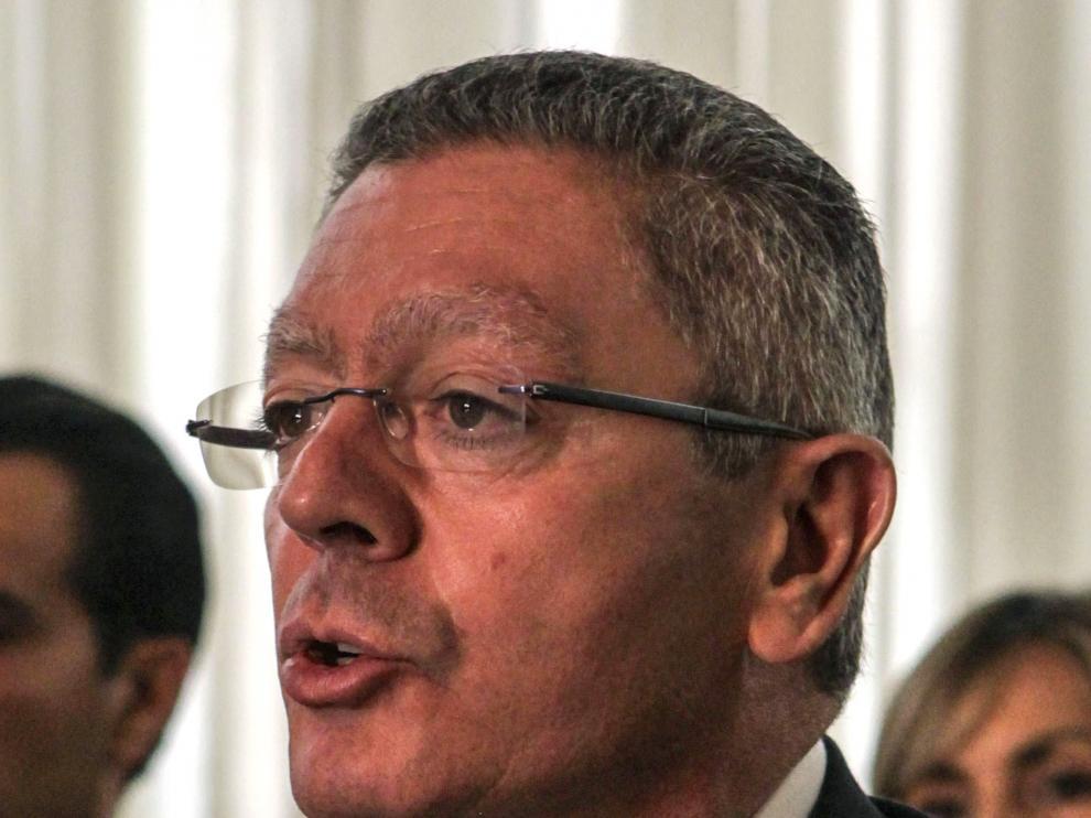 El expresidente madrileño Alberto Ruiz Gallardón.