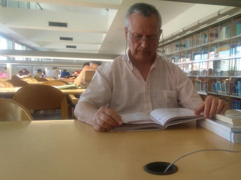Jesús Fleta, en la Universidad de Zaragoza