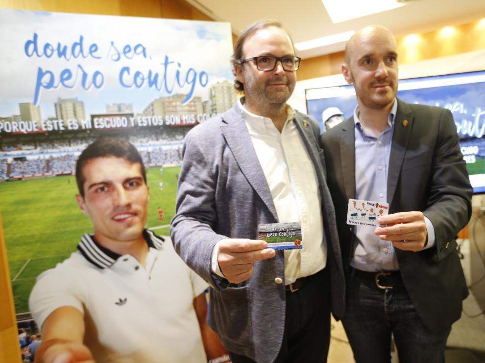 Presentación de la campaña de abonados del Real Zaragoza