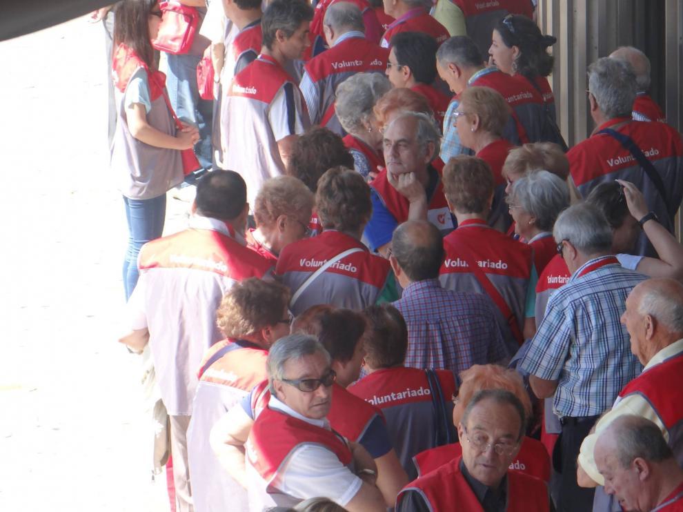Zaragoza cuenta con 3.845 voluntarios municipales