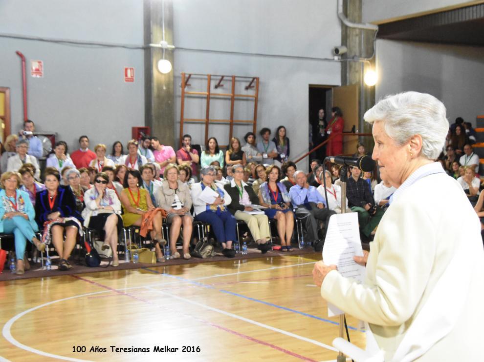 Celebración del centenario del colegio Teresianas de Zaragoza