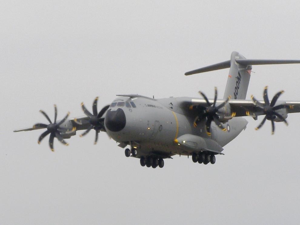 Una imagen de un Airbus A400M