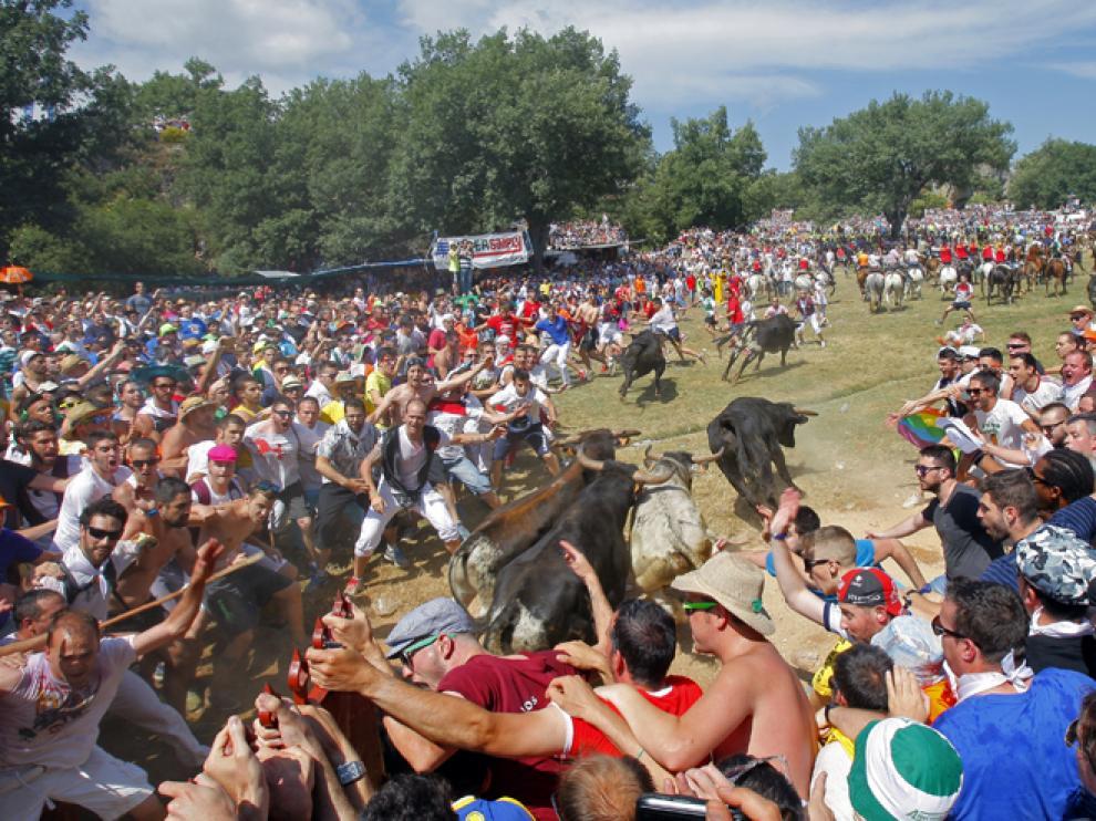 La Saca es el festejo más concurrido, con más de las 20.000 personas