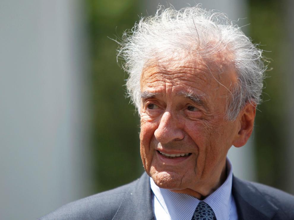 Una imagen de Elie Wiesel en 2010.