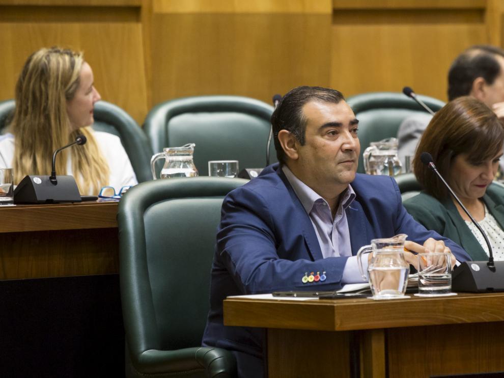 El concejal de Ciudadanos Alberto Casañal.