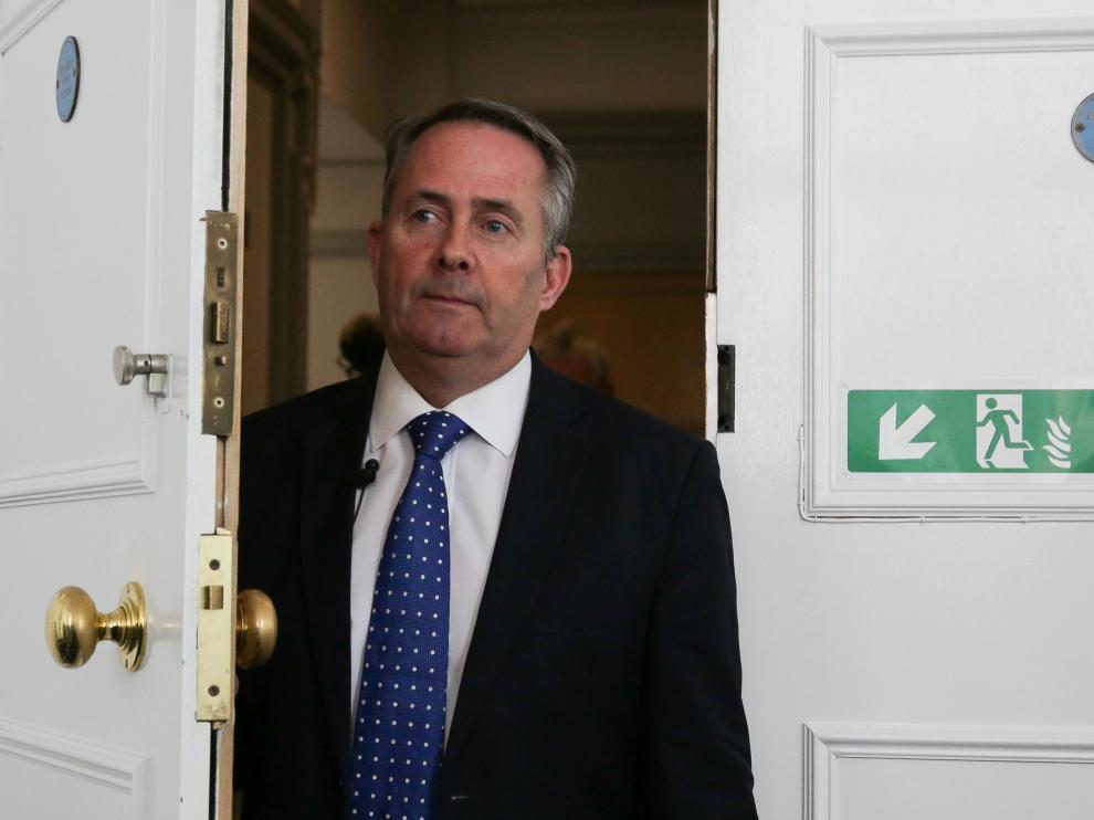 El ministro de Defensa británico, Liam Fox.