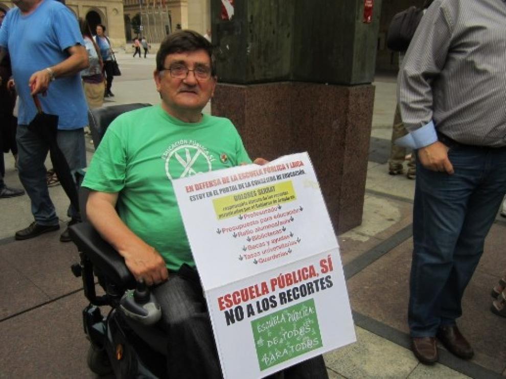 Fallece el profesor y activista Antonio Aramayona