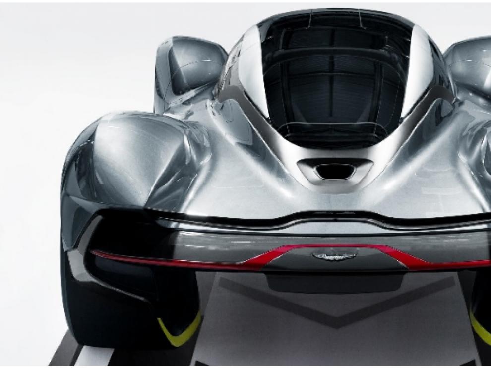 Aston Martin y Red Bull presentan un superdeportivo