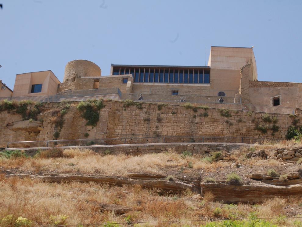El último derrumbe en el castillo de Caspe se produjo hace unos tres meses.