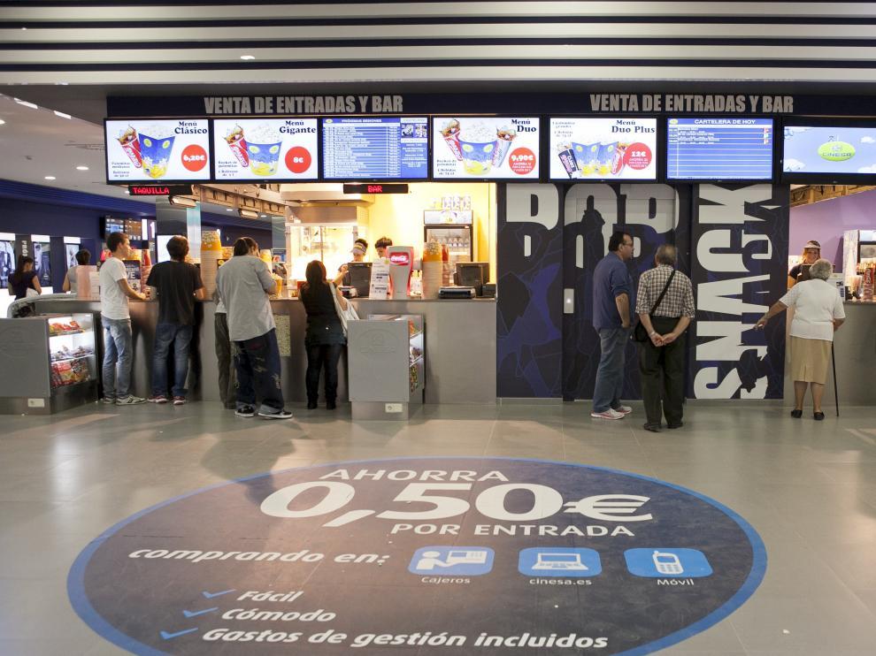 Los cines de la compañía Cinesa en Puerto Venecia.