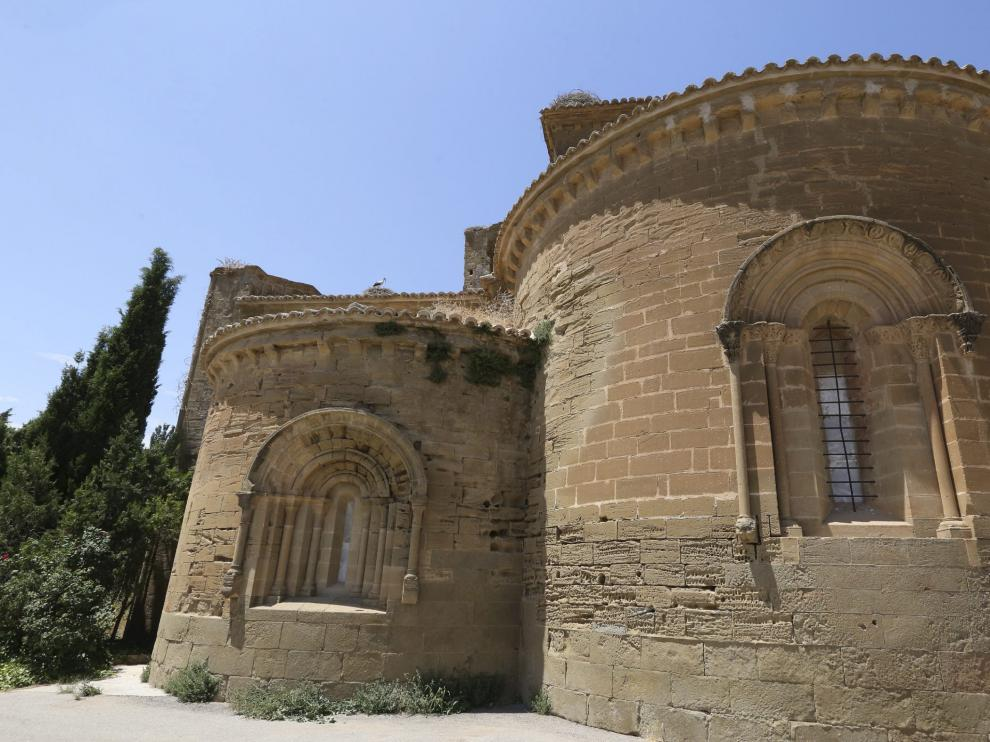 El monasterio de Sijena.