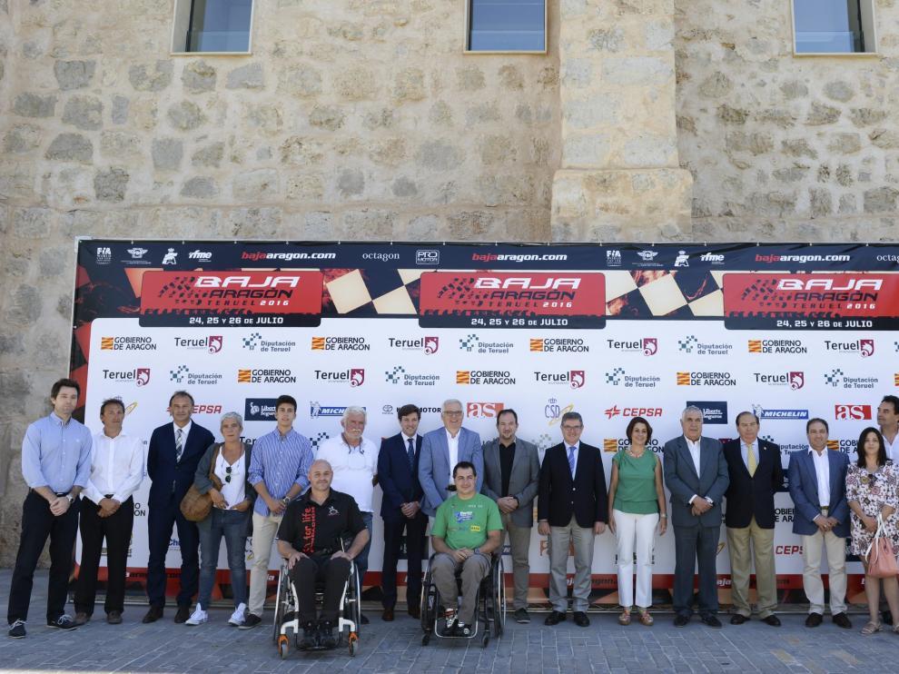 Acto de presentación de la XXXIII edición de la Baja Aragón