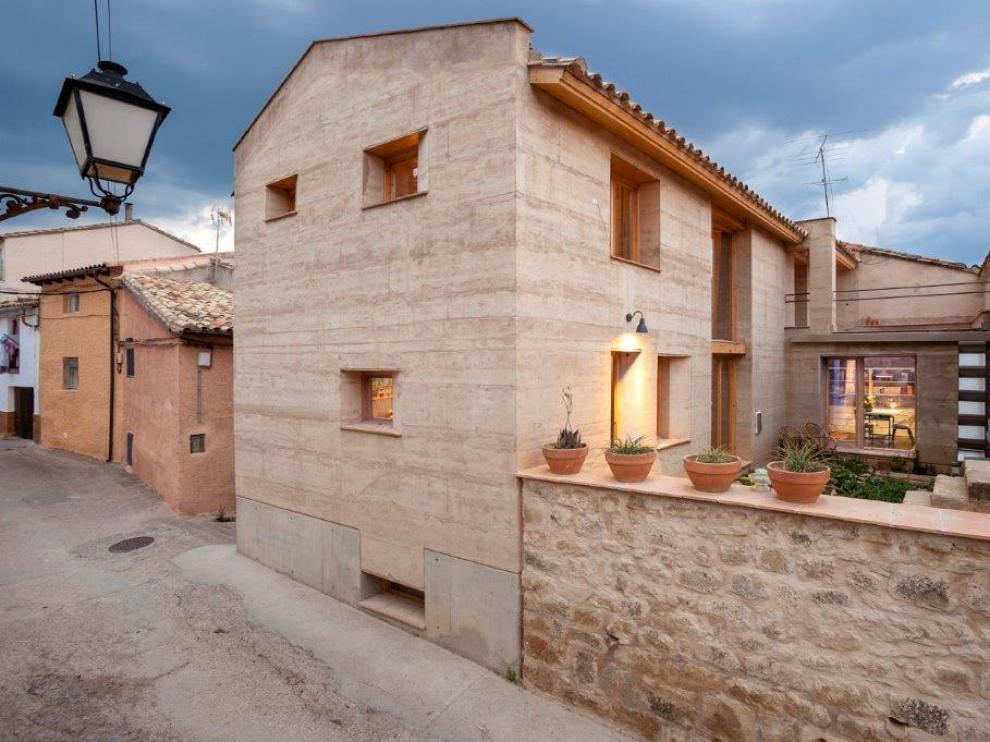 La arquitecta ha ganado el premio en la categoría de vivienda individual.