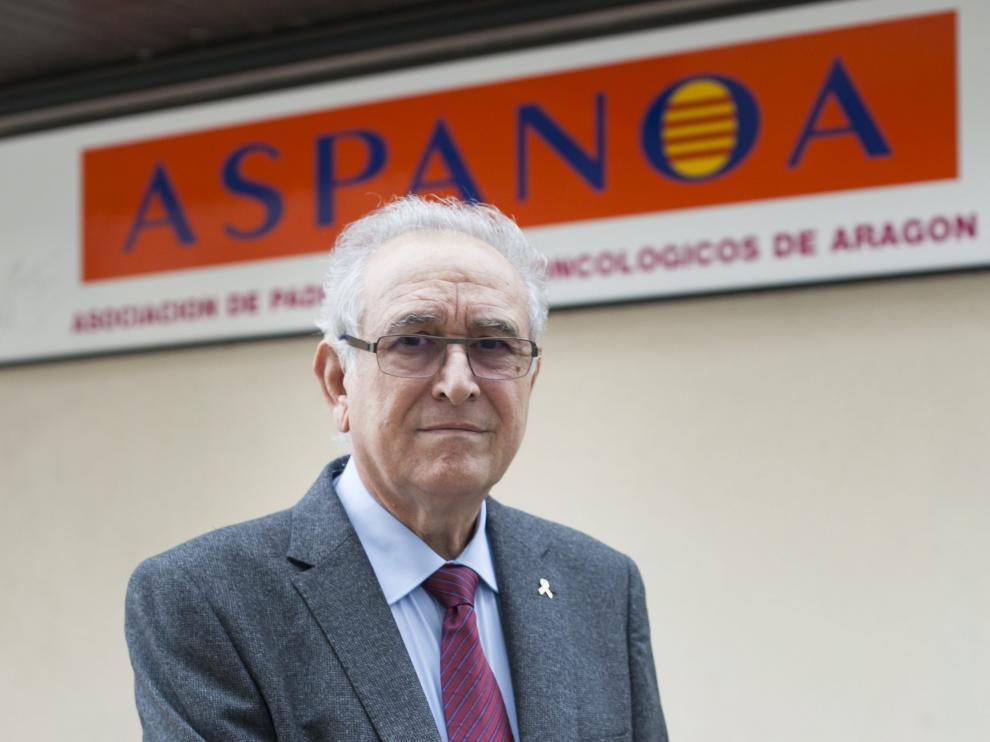 Miguel Casaus, presidente de Aspanoa.