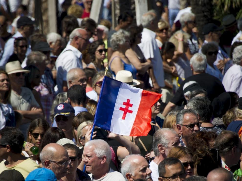 Minuto de silencio en Francia por el atentado de Niza.
