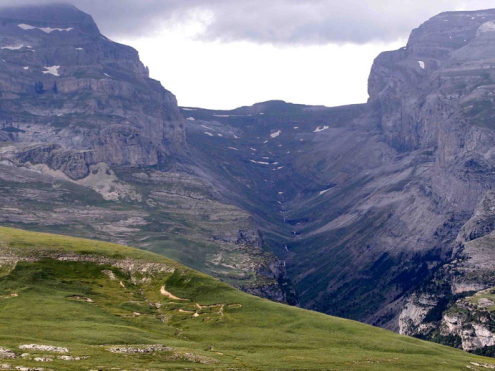 Imagen de archivo del Cañón de Añisclo, en el Parque Nacional de Ordesa.