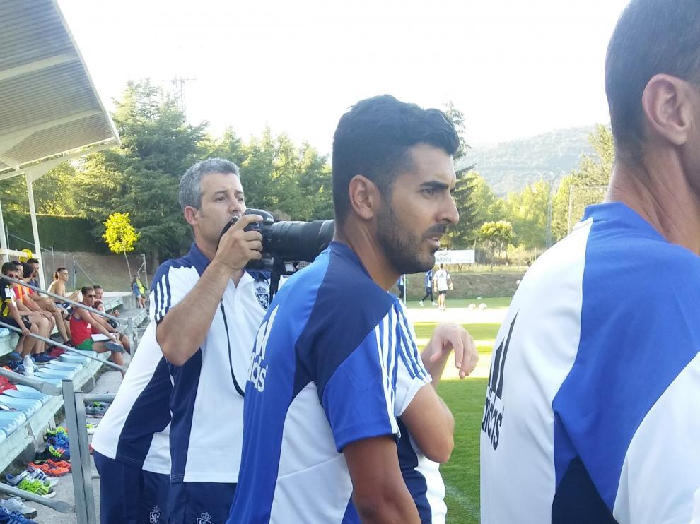 Ángel Rodríguez ha sido el único jugador que ha completado la jornada del martes al margen del grupo.