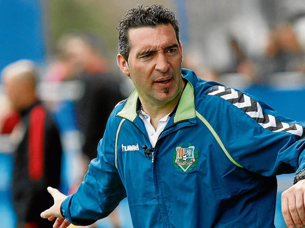 El técnico Alberto Berna en una imagen de archivo.