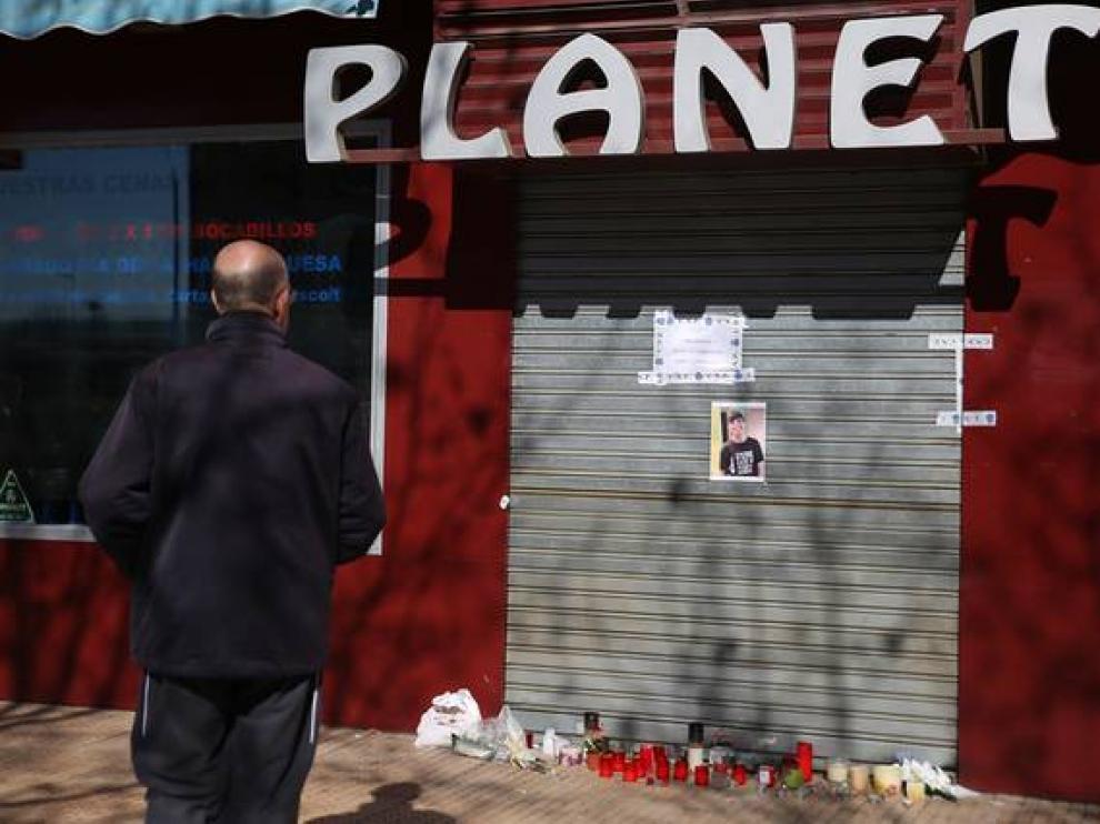 Escenario de uno de los últimos crímenes por violencia de género en Zaragoza.