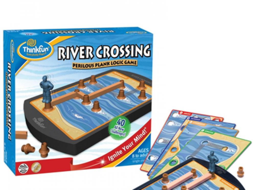 El juego de lógica 'Rivercrossing'.