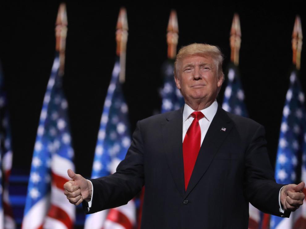 Donald ?Trump en una imagen de archivo.