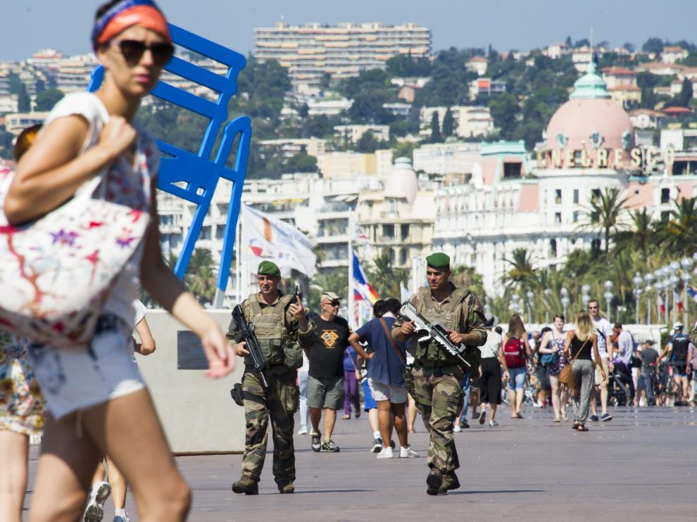 El Gobierno ha ampliado la seguridad en Niza tras el atentado