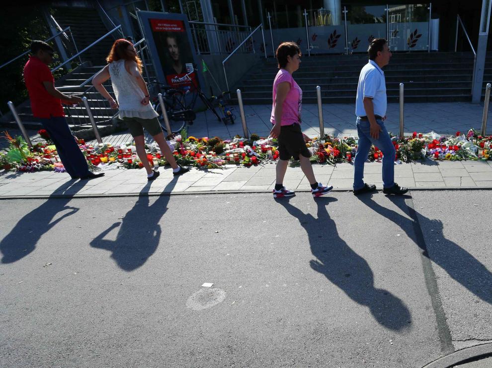Homenajes tras la matanza de Munich