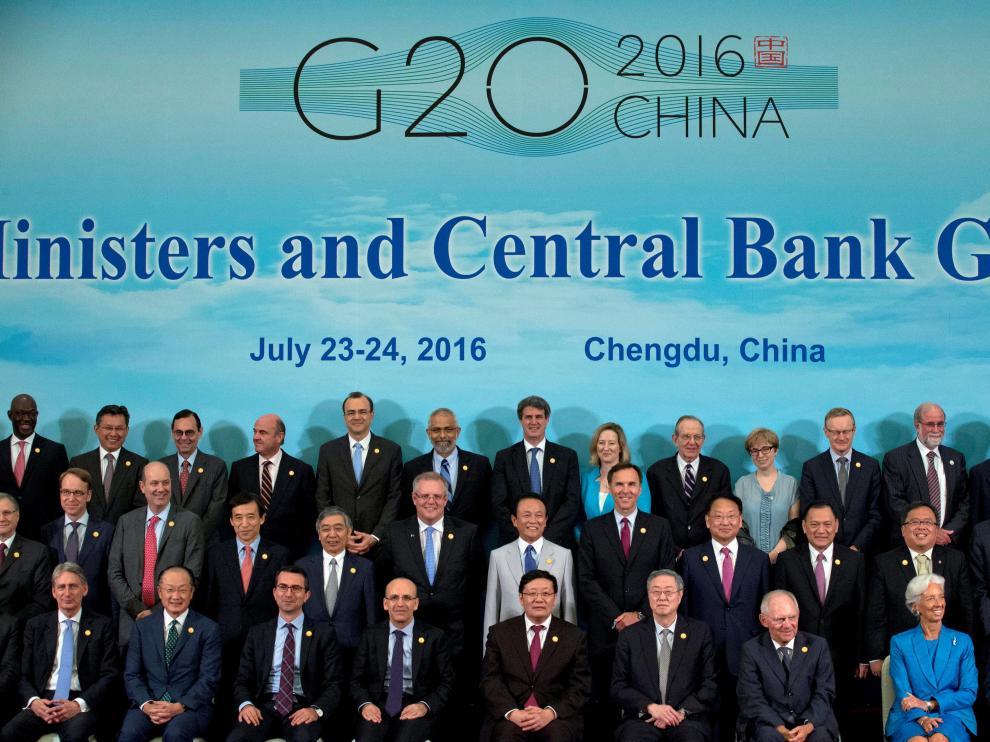 """?El G20 señala que el brexit """"suma incertidumbre"""" al panorama económico global"""