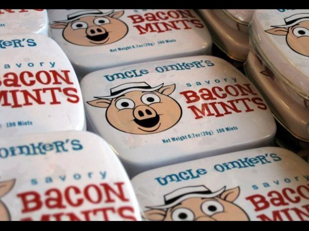 Caramelos con sabor a delicoso... bacon.